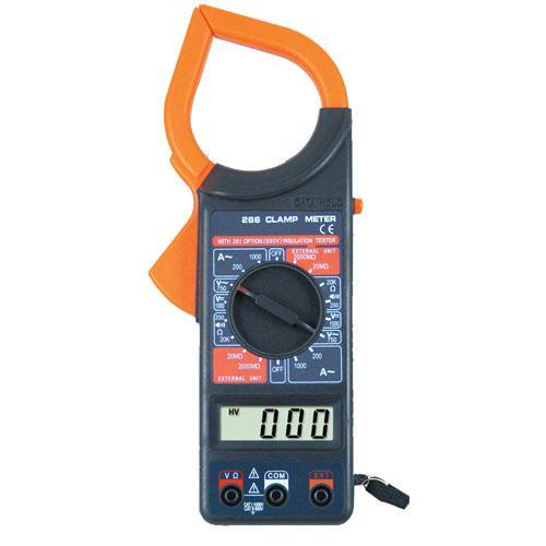 Digital Clamp Meter Dt 266 : Dt digital clamp meter new type